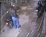 OMG!!! Bike Theft caught in camera