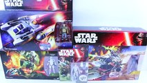 Star Wars Toys Review Luke Skywalker and Jarrus Rebels Y-Win Scout Bomber