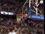 LeBron James drives for the tough layup and the win