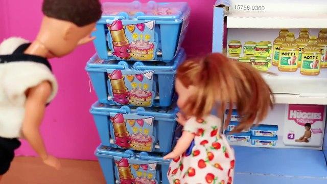 Frozen Kids Buy Shopkins Krista & Kristoff Jr Shopkins Shopping with Princess Anna by DisneyCarToys