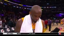 NBA Highlights   Kobe Bryant On his Battle With Wiggins   Timberwolves vs Lakers   Feb 2, 2016 (News World)