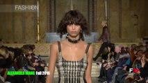 ALEXANDER WANG Highlights Fall 2016 New York Fashion Week by Fashion Channel