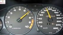 Honda Integra Type R 230HP acceleration top speed km/h
