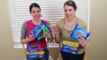 OREO COOKIE CHALLENGE Twin Style! DisneyCarToys vs Her Sister AllToyCollector Cookie Tasting