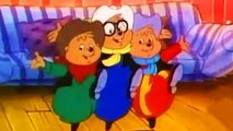 Cartoon Alvin and the Chipmunks. Urban Chipmunk.