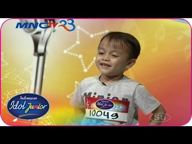 NOBEL INNOVA - SOMEWHERE OUT THERE (Linda Ronstadt) - Audition 2 - Indonesian Idol Junior