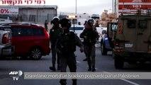 Cisjordanie: mort d'un Israélien poignardé par un Palestinien