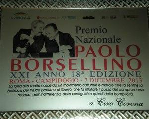373 - Premio Borsellino 2013 - 9 - Ciro Corona