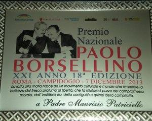374 - Premio Borsellino 2013 - 10 - Maurizio Patriciello