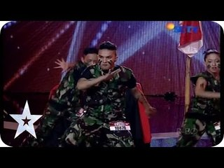 Army Dancer, Unlimited Paz Crew - Audition 1 - Indonesia's Got Talent