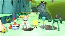 SpongeBob HeroPants - All Boss Fights & All Cutscenes 【Full HD】