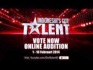 VOTING ONLINE AUDITION IS OPEN. VOTE NOW! - Indonesia's Got Talent
