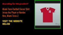 Miami Toros Football Soccer Shirt Jersey Any Player or Number New, Miami-Toros-2