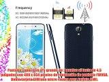 DOOGEE LEO DG280 Smartphone Movil 3G Libre Economico Quad Core Y Doble SIM y Doble modo de