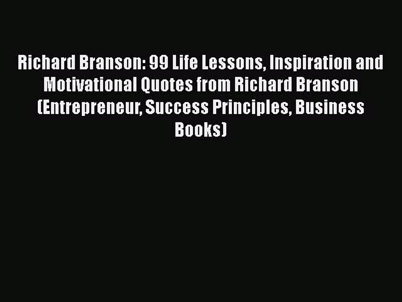 richard branson life lessons inspiration and motivational