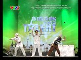 Vietnam's Got Talent 2012 - Vòng Loại Sân Khấu - Tập 4 Nhóm Big Wave - Popping