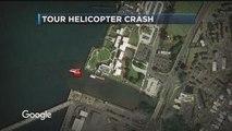 Eyewitnessed heli crash today at Pearl Harbor, Hawaii almost over the Arizona Memorial
