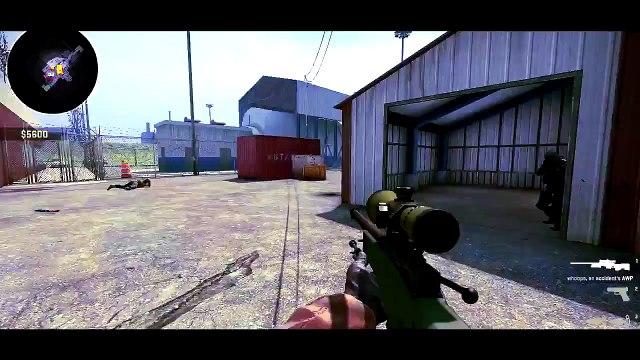 CS: GO Funny Moments & Fails! - AWP Trickshot, Mini's Grenades, and Knife Fails!
