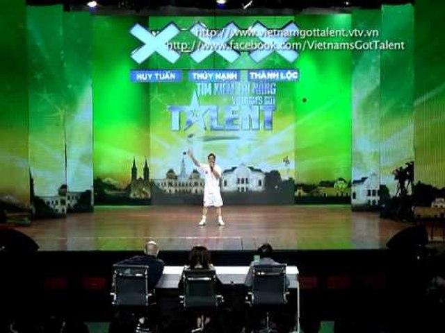 Vietnam's Got Talent 2012 - Vòng Loại Sân Khấu - Trần Trung Kiên