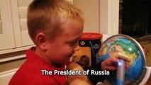 Vladimir Putin'in Adını Duyunca Gülmekten Çatlayan Muzur Velet