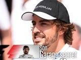 F1 : le garage secret de Fernando Alonso