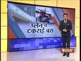 Kolkata airport: Jet Airways Bus Crashes Into Air India Plane