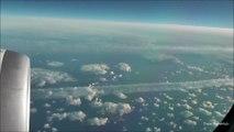 Course entre un Airbus A340 et un Boing 787 en plein ciel au dessus de l'atlantique