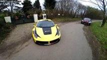 Il se filme avec sa Ferrari 458 Italia à 300 kmh