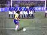 Coup franc Ronaldinho-bresil