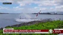 Crash d'helicoptere à hawaii