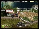 по джунглям биг фут с пушкой game Monster Truck Jungle # 2 игра онлайн