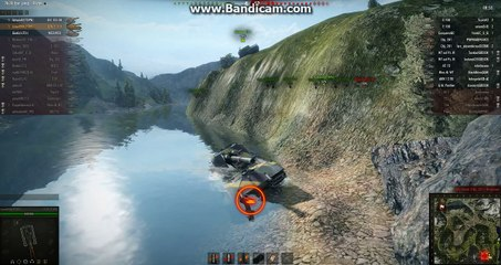 World of Tanks arty fail and drown