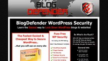 Blog Defender Total WP Security 2014 | Product Reviews