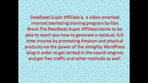 Deadbeat Super Affiliate (Reloaded) Review | Deadbeat Super Affiliate (Reloaded )