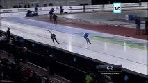 Shani Davis 500m 2nd Skate - US SPEEDSKATING TRIALS - LIVE 12-28-13