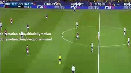 Paul Pogba 1st Chance to Score - Bologna vs Juventus - Serie A - 19.02.2016