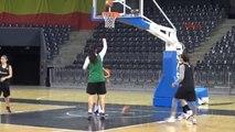 A Milli Kadın Basketbol Takımı İlk Çalışmasını Yaptı