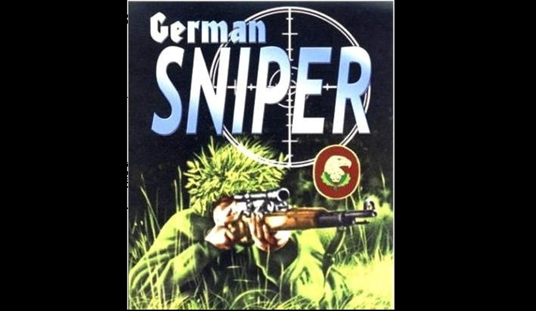 Германские снайперы — обучение на местности - 1944  Часть II    Немецкий учебный фильм