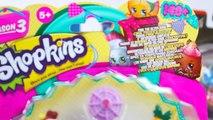 Jouets! 3 boîtes de Shopkins, Voitures 2 lAction des Agents de Cars 2 micro jeux de voiture pour les enfants - 2016