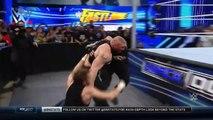 Brock Lensar confronts Dean Ambrose and Roman Reigns