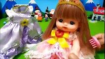メルちゃん プリンセス メルちゃん 洋服 ドレス なかよしパーツ お世話 おもちゃ Baby Doll Mellchan Princess アンパンマン❤おかあさん♦