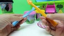 Play Doh Barbapapa Molds and Shapes Carry Case Play Dough Picnic Set Barbapapá Barbapapa F
