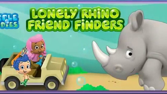 New Games 4 Kids Bubble Guppies Lonely Rhino Friend Finders!
