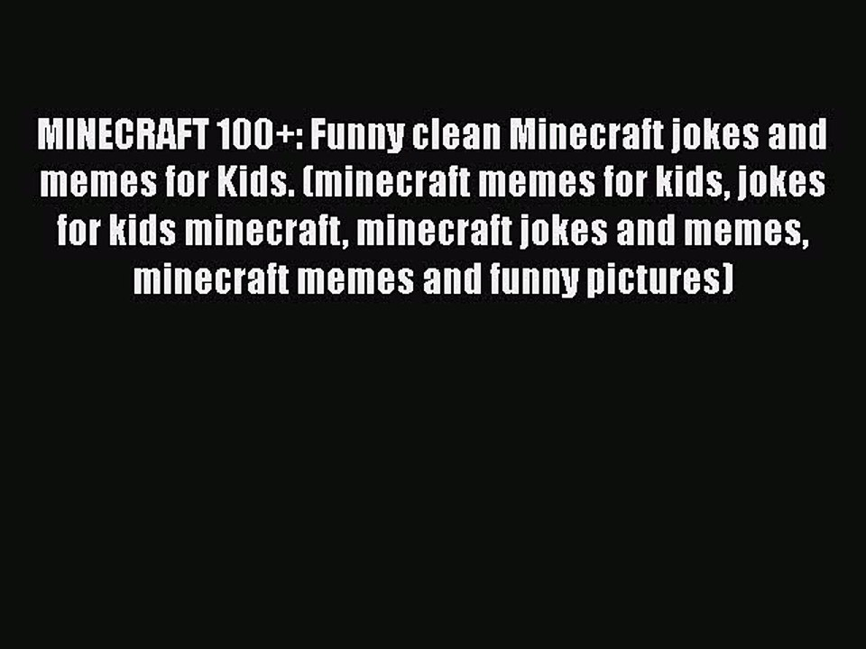 minecraft memes funny clean