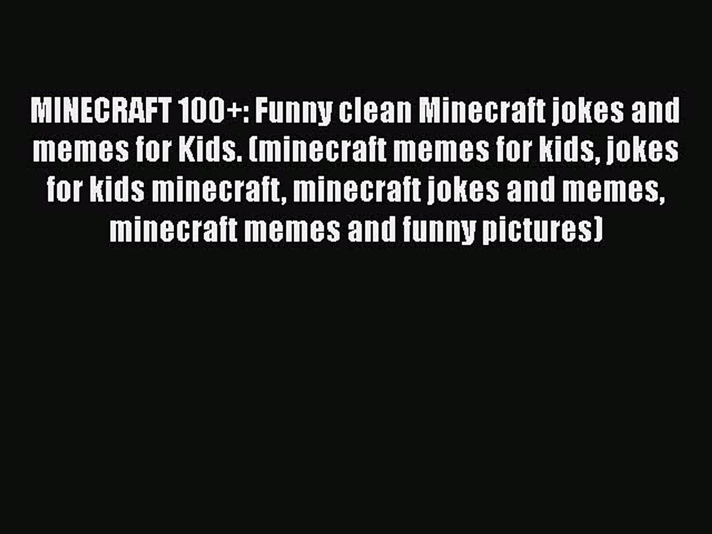 minecraft memes clean funny