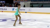 Aleksandra Butko, 2015 ISU Junior Grand Prix Bratislava Ladies Short Program