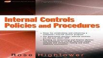 Download Internal Controls Policies and Procedures