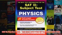 Download PDF  SAT II Physics REA  The Best Test Prep for the SAT II SAT PSAT ACT College FULL FREE