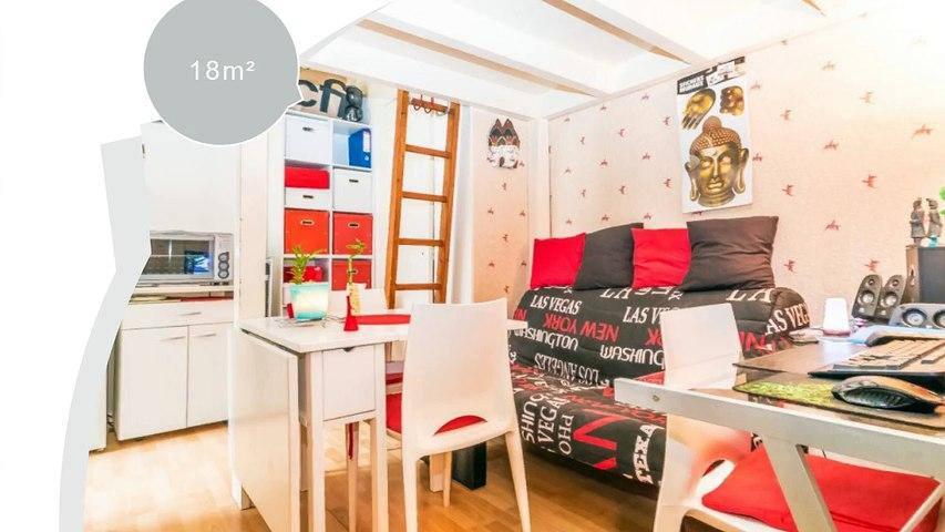 A vendre - studio - Toulouse (31000) (31000) - 1 pièce - 18m²