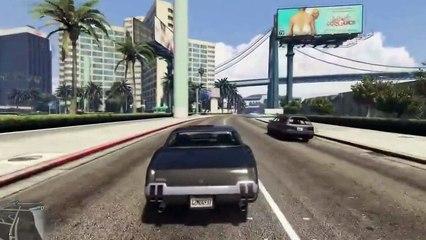GTA 5 Funny Fail - Cop Fail